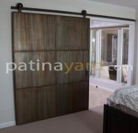 Custom Contemporary Sliding Barn Doors Custom Design ...