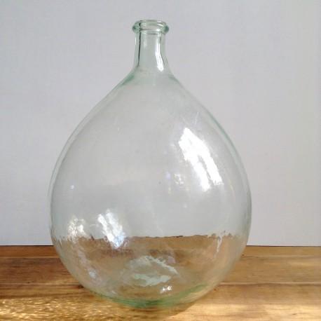 Dame Jeanne Bonbonne Vase Forme Bouteille En Verre Recycl