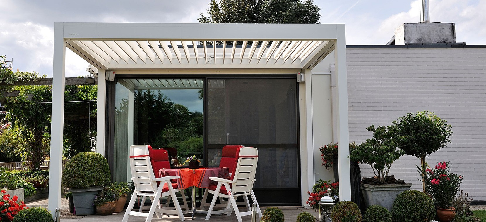 louvered roof patio covers