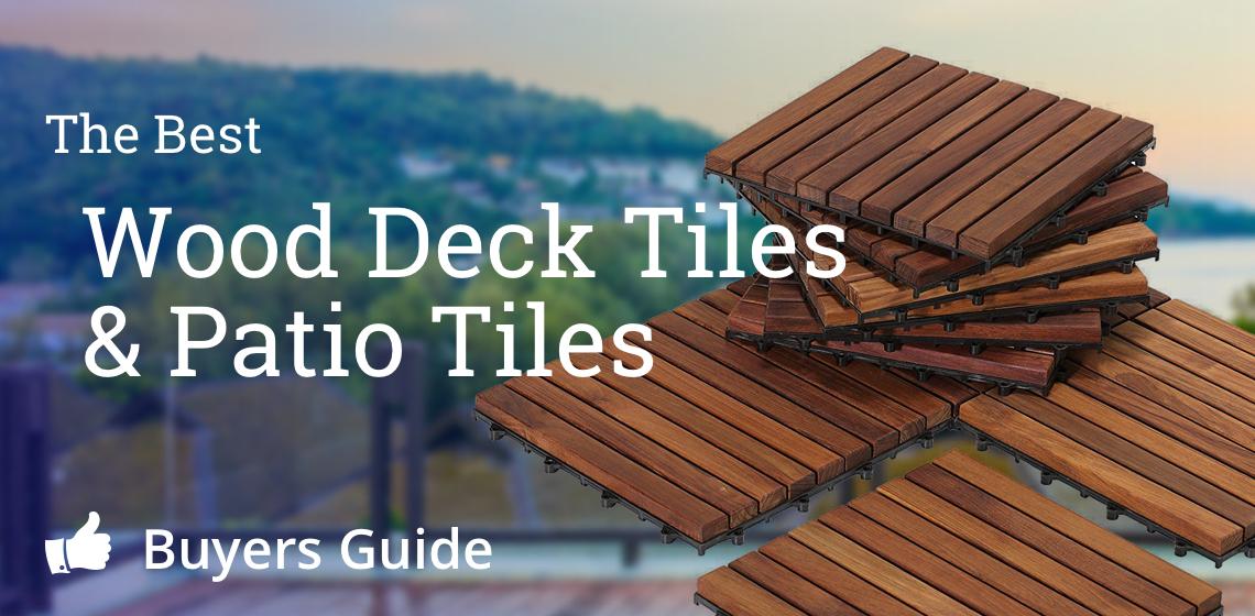 Best Wood Deck Tiles Amp Patio Tiles Interlocking Solid