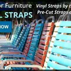 Patio Chair Repair Vinyl Strap Hook On Replacement Slings Straps Parts Fabrics Chairs And Precut