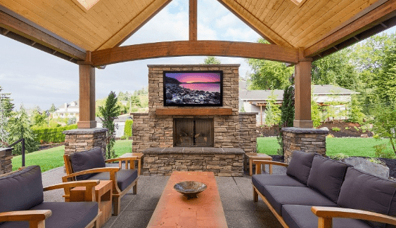 how to protect an outdoor tv in your