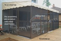 PatioMate in Canada | Wall Attached Screened Enclosures ...