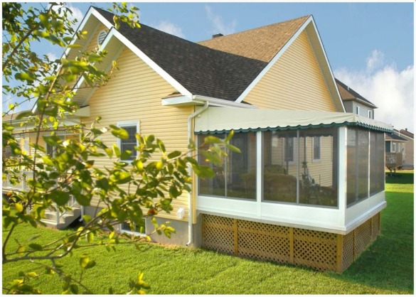Screened Patio Enclosures  Patio Room Kits in Canada  The Polaria Picture Gallery