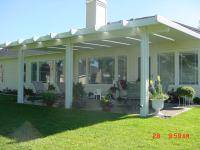 Boise Patio Covers Solid Lattice @ Patio Covers Unlimited