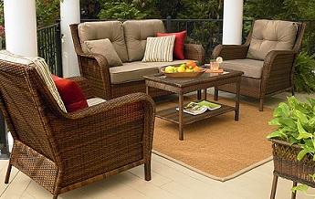 sears cushions patio furniture cushions