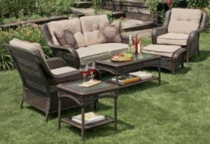 garden oasis patio chairs plans adirondack free napa valley cushions furniture 4pc set