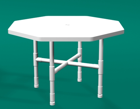 PVC Octogon Dining Tables