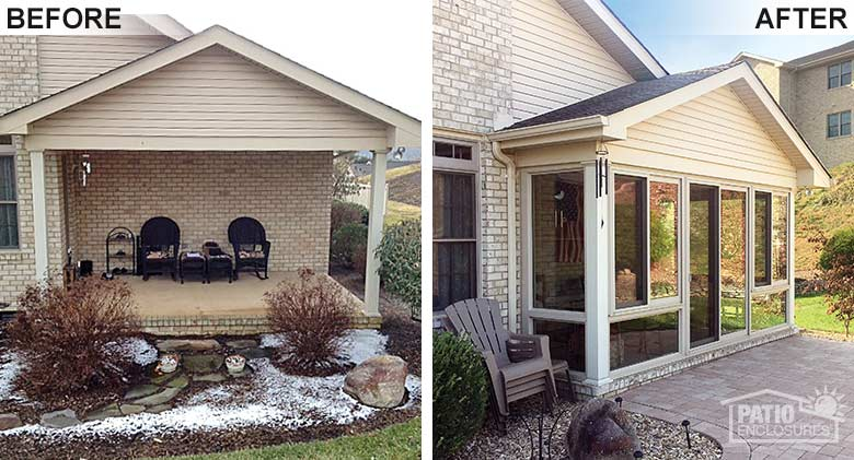 patio porch conversions sunroom