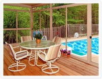 Screened-In Porch - How to Keep Bugs Away