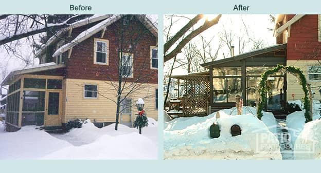 Albany Home Addition  All Season Sunroom  Patio Enclosures