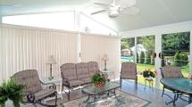 Sunroom Furniture & Shade Ideas Design