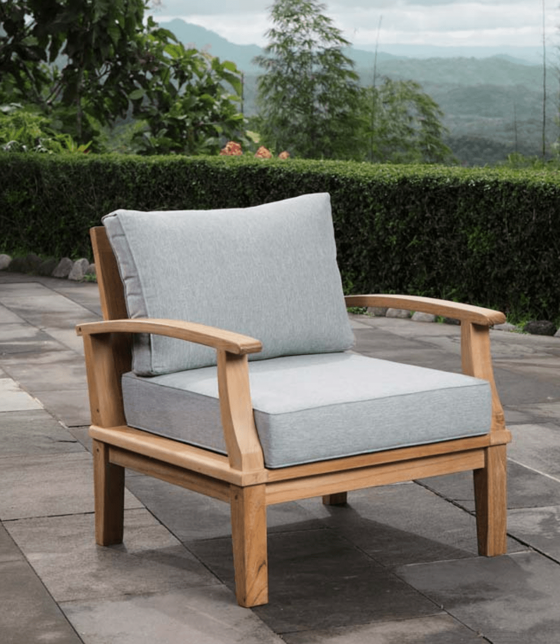 Teak Patio Armchair  Patio Furniture Co