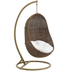 Outdoor Wicker Swing Chair Womb Design Within Reach Patio Wood With Stand Furniture Co Rattan