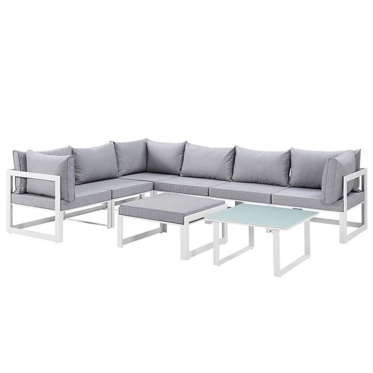 8 piece outdoor patio sectional sofa set eei 1735