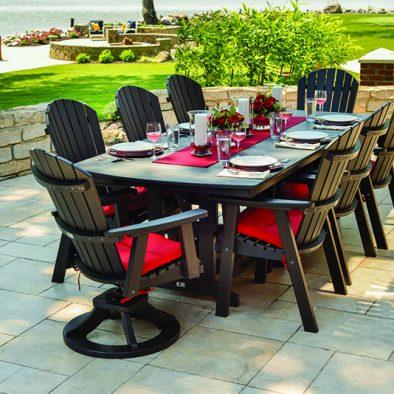 poly resin labadies patio furniture