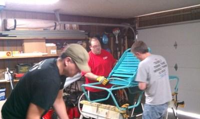 Pool Furniture Swim Club Vinyl Strap Replacements in Muncie Indiana
