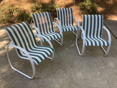 Patio Sling Replacements in CA