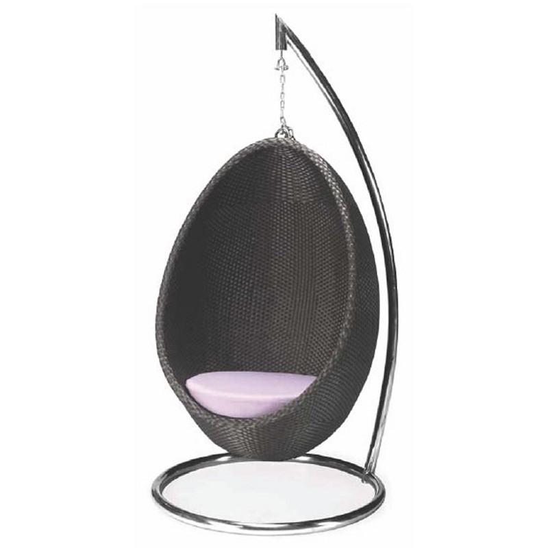 Nuevo Hanging Egg Swing Patio Chair NVHGGA466