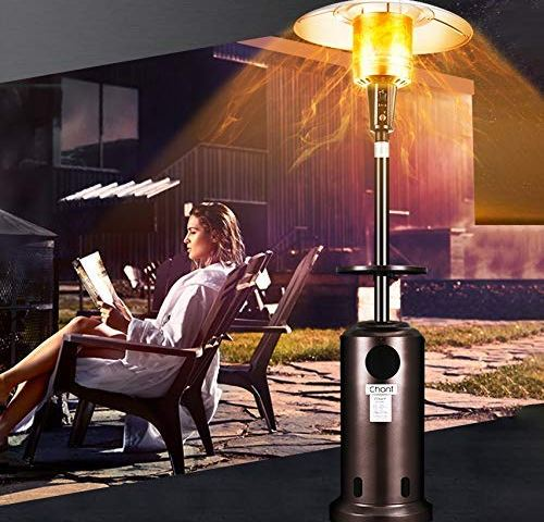 with Zipper Oxford Cloth Waterproof Black Standup Outdoor Standing Round Heater Covers,89 H x 33 D x 19 B Raoccuy Patio Heater Cover