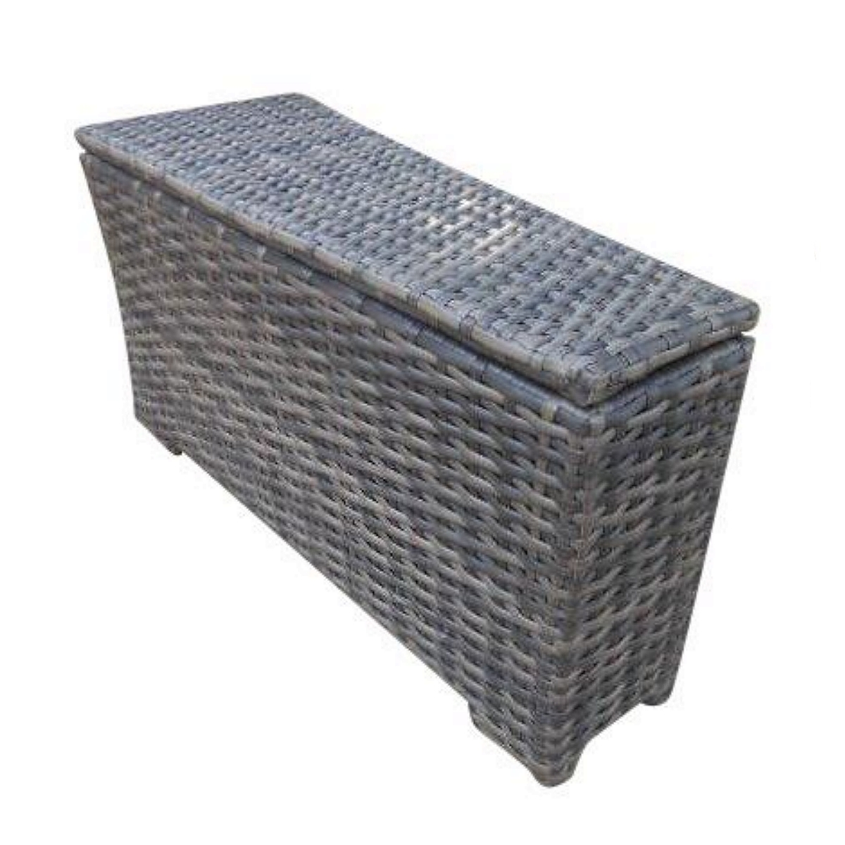 concord storage outdoor patio furniture wedge end table