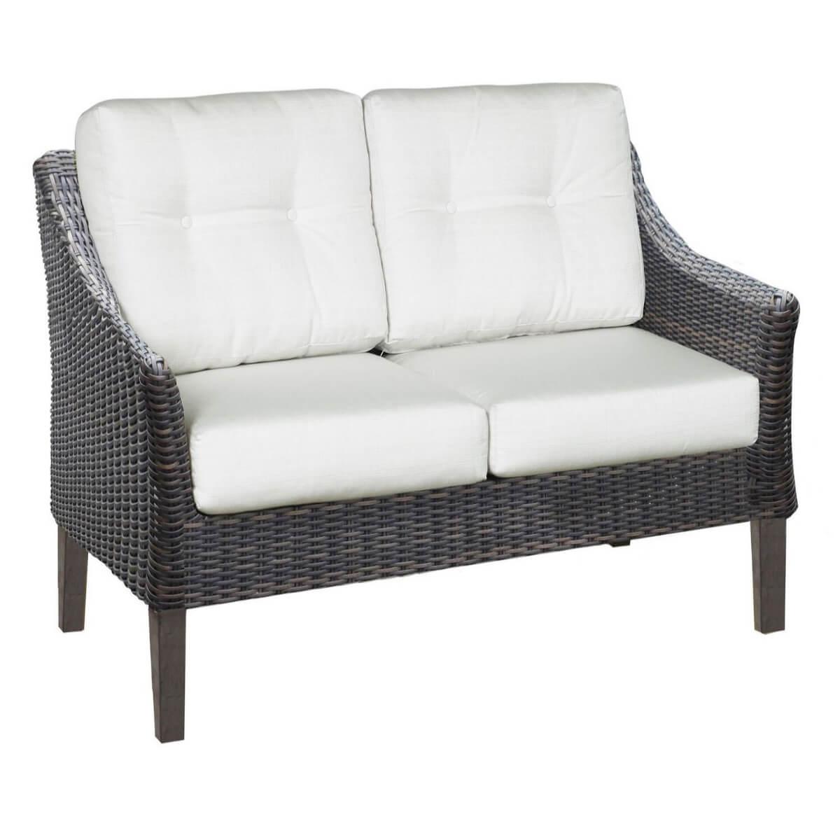 San Marino Outdoor Patio Furniture Loveseat  PatioHQ