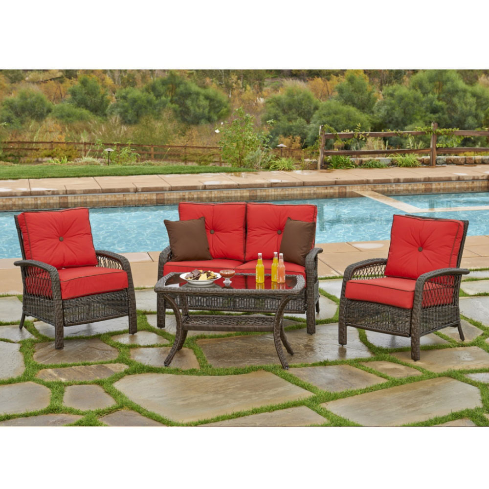 beacon 4pc outdoor patio furniture patio set