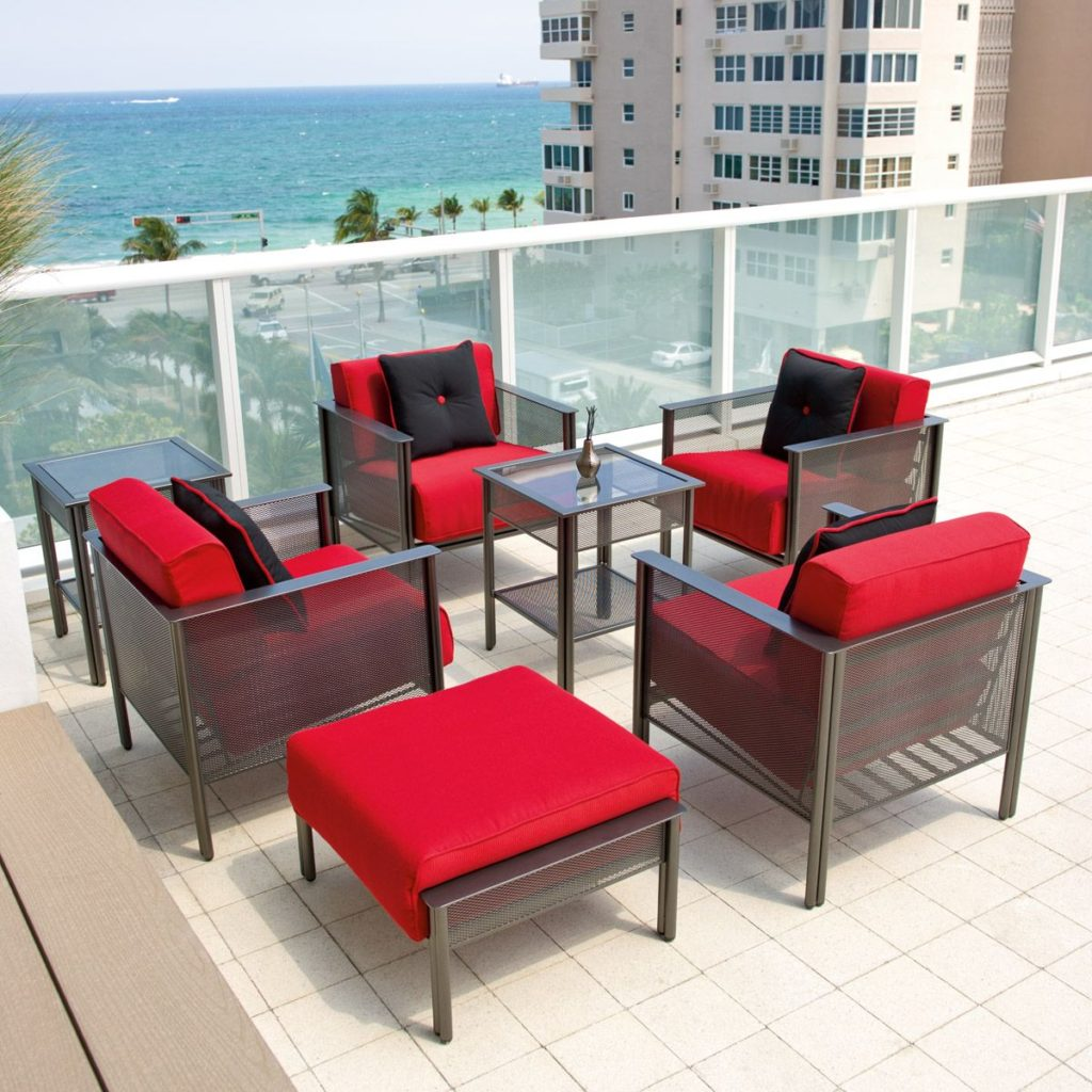 keep outdoor furniture from blowing away