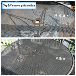 Refinishing Rusty Old Patio Furniture Patio Productions