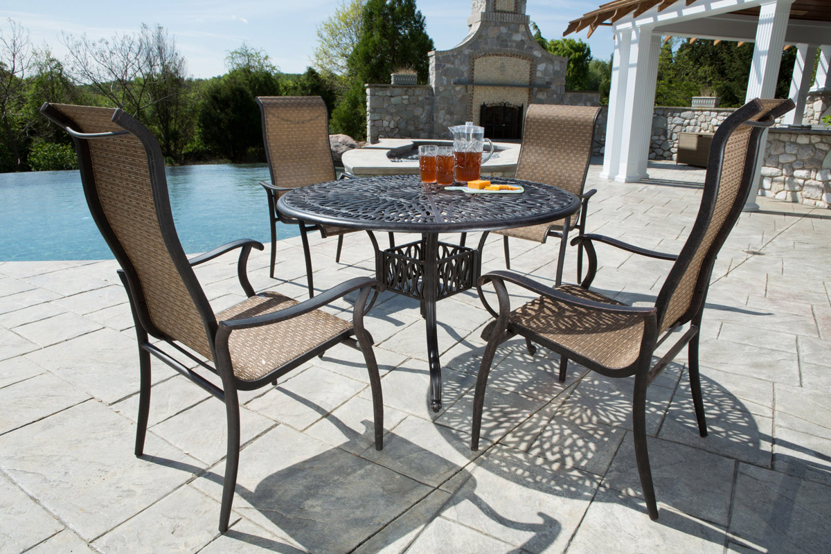 best patio chairs table linens and chair covers for weddings the top 10 outdoor furniture brands