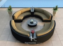 Luxe Hotel Patio Furniture Rooftop Bars