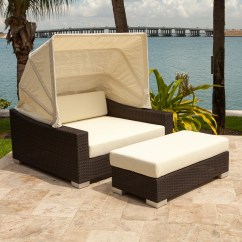 Lawn Chair With Canopy Stacking Outdoor Chairs 10 Daybeds Youll Want To Use Indoors