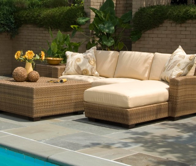 Outdoor Wicker Furniture In A Variety Of Styles From Patio Productions