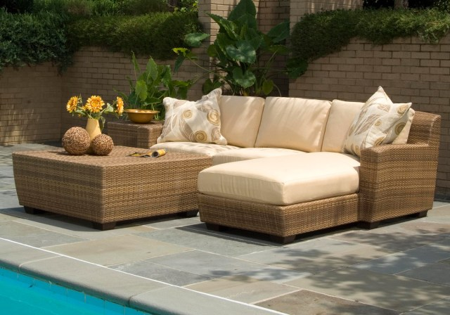 outdoor wicker furniture - resin wicker patio sets