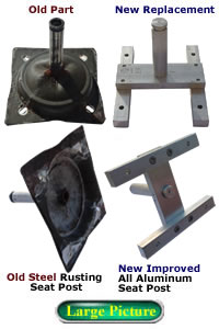 swivel chair parts coleman cooler quad target rocker