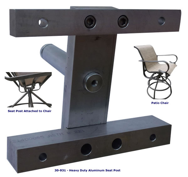 patio swivel chair seat post bushing vintage desk chairs 30 931 heavy duty aluminum click here to return
