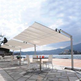 8 x 12 flexy aluminum rectangle offset umbrella