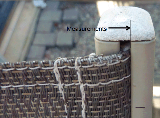 Howto Measure Slings  Patio Sling Site