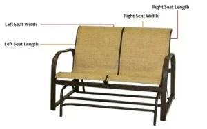 patio sling repair replacement slings