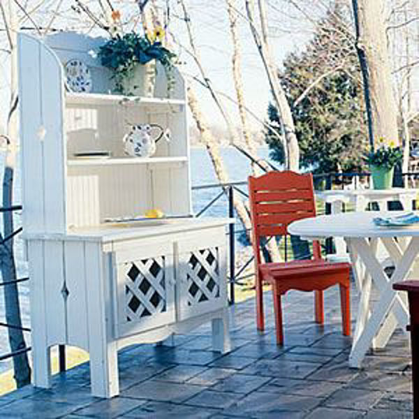 uwharrie companion outdoor hutch unfinished