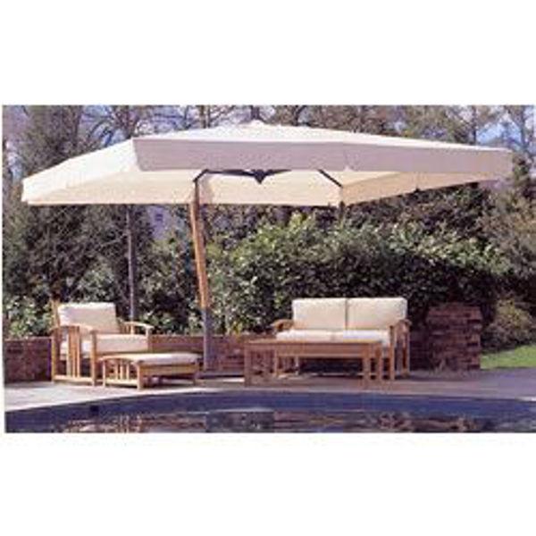 fim aluminum 10 x 13 offset patio umbrella p19