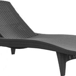 Amazon Outdoor Chair Cushions Hanging In Balcony Keter 2pc Rattan Chaise Lounge Chairs - Patio Table