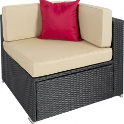 Recliner Sofa Set Amazon How Can I Clean My Microfiber Best Choice Products 7pc Wicker Outdoor Sectional