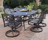 Home Styles Biscayne 7-Piece Outdoor Dining Set with ...