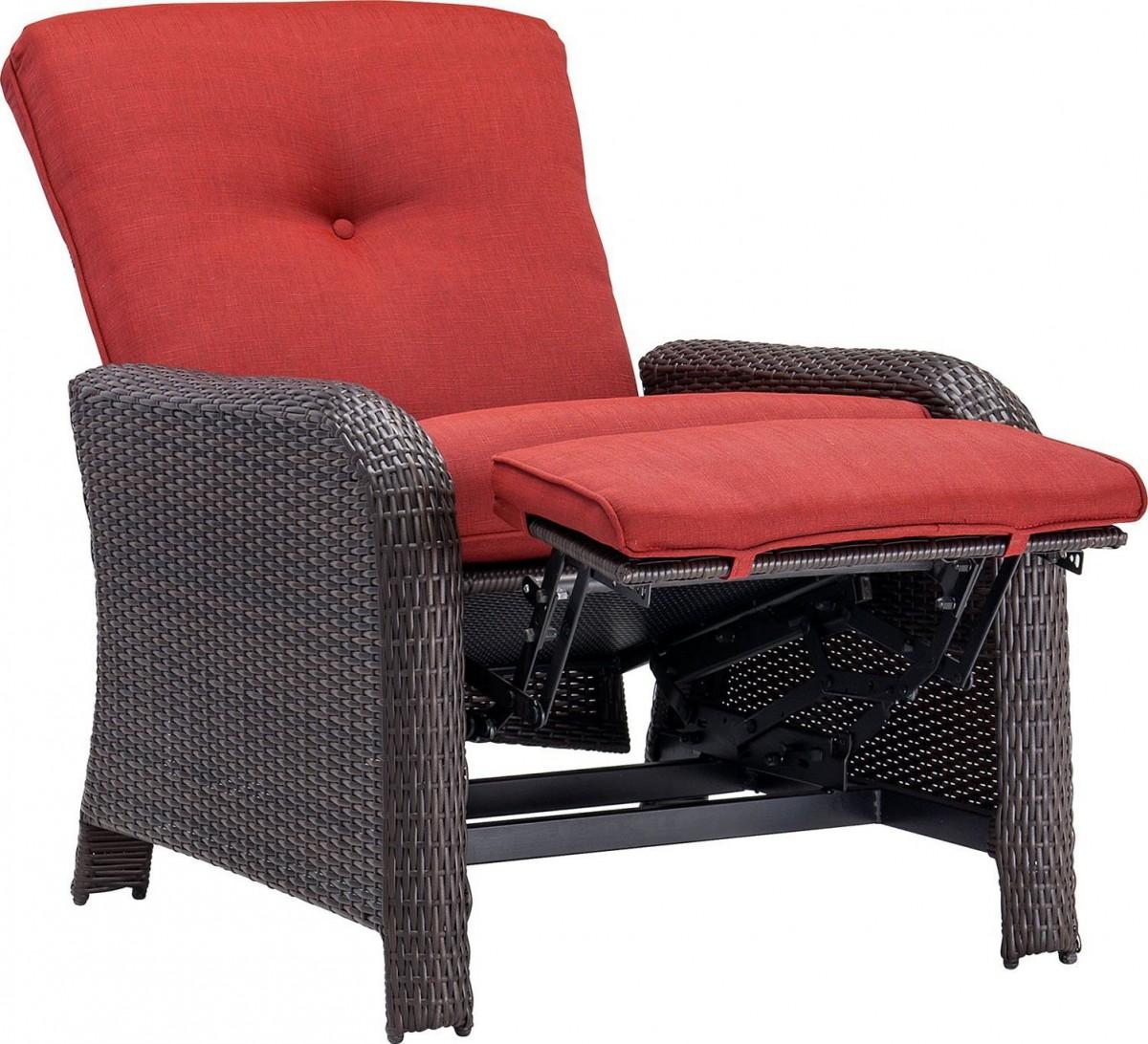 garden chair covers the range godrej revolving for back pain hanover strathmere luxury wicker outdoor recliner