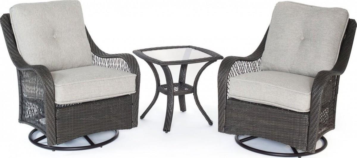 Black Outdoor Rocking Chair