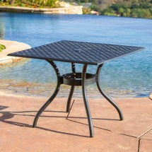 Marietta Cast Aluminum 5 Piece Outdoor Dining Set With