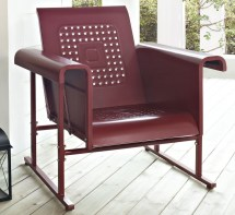 Crosley Metal Outdoor Glider Chair