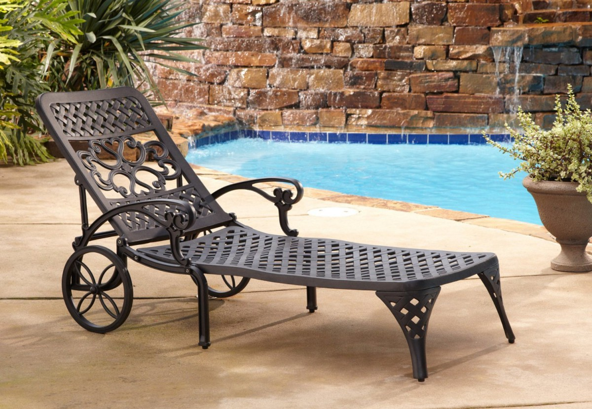 outdoor chaise lounge chairs with wheels bedroom chair gumtree home styles biscayne