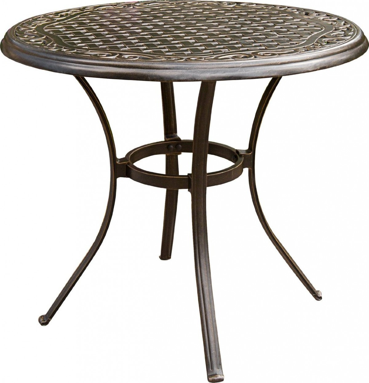 patio bistro table and chairs white wicker outdoor hanover traditions 3 piece set with